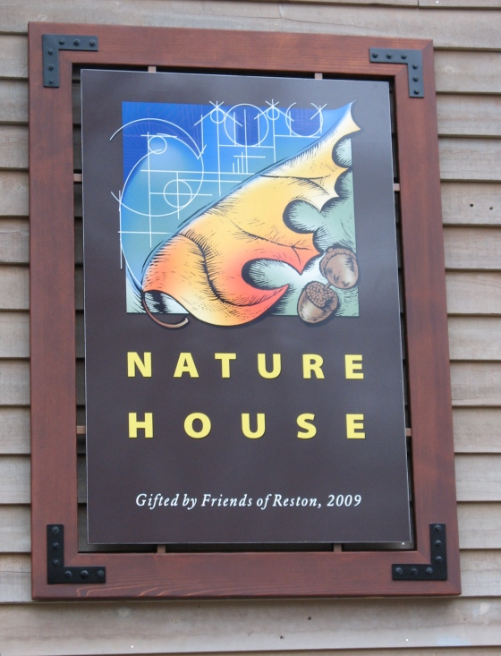 Nature House sign
