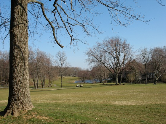 spring on Reston National Golf Course
