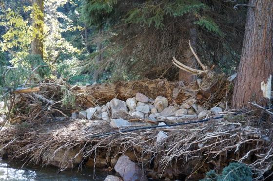 Debris leaft from Jamestown CO flood