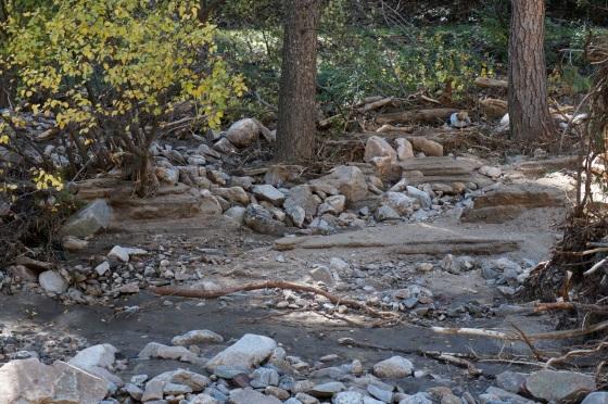sand in Jamestown CO flood