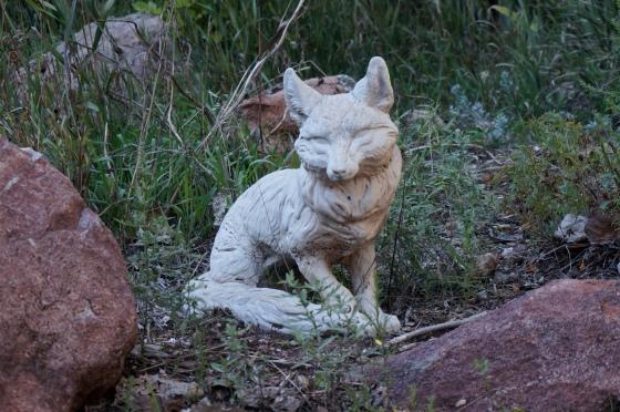 Fox statue