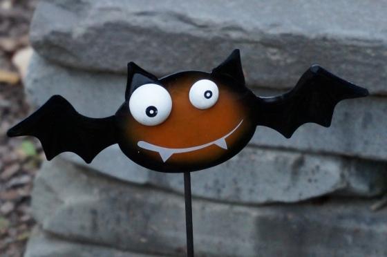 Bat statue