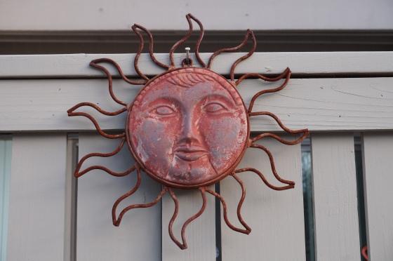 Sun statue
