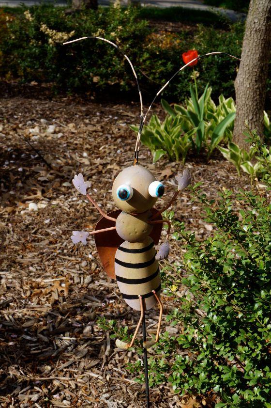 Ladybug statue front