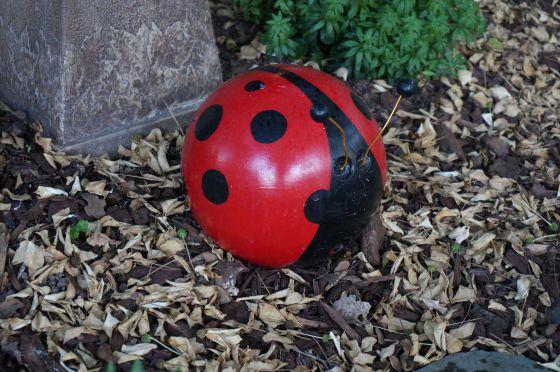 ladybug statue