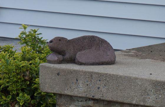 Beaver Wildlife Statue