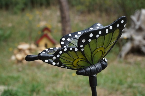 butterfly wildlife statue