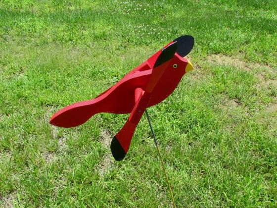 Cardinal Wildlife Statue