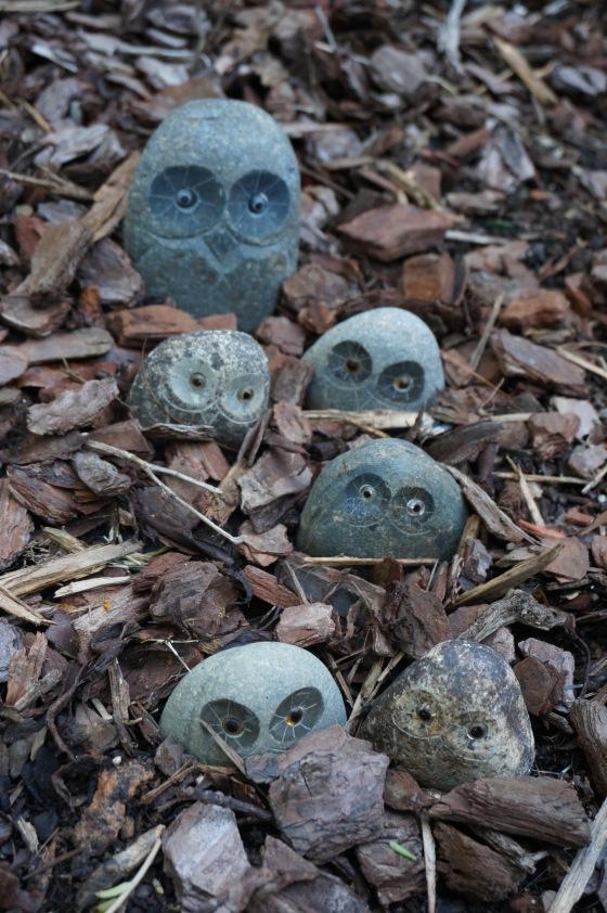 Owl wildlife statues