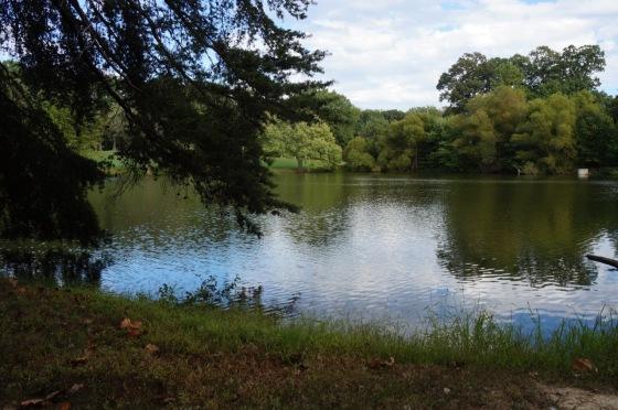Reston National Golf Course pond